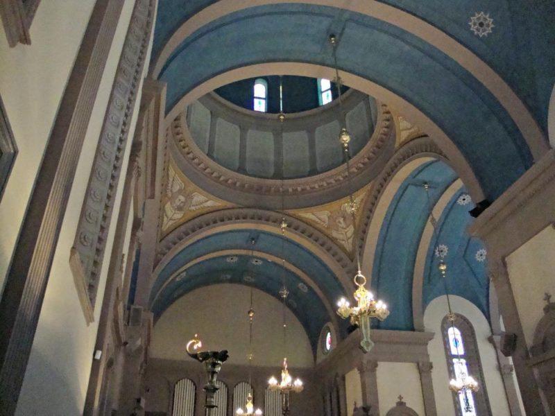 Interior of Memorial Presbyterian Church: a must-see church in Saint Augustine, Florida